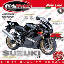Adesivi/Stickers KIT SUZUKI GSX-R 1000 K3 2003 BLACK EDITION - REAL CROMO-FLUO !
