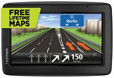 TomTom Start 25M 5 pulgadas SAT NAV GPS Europa UE ROI Reino Unido libre de mapas de por vida vista 3D