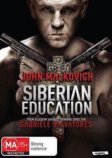 Siberian Education (DVD, 2014)John Malkovich*Terrific Condition