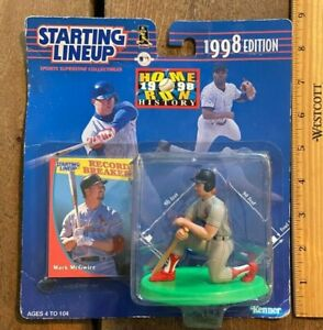 1998 Starting Lineup HR History Mark McGwire St Louis Cardinals