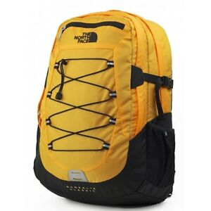 The North Face Borealis Classic Backpack TNF Yellow Ripstop TNF Black NEW