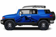 Custom Vinyl Decal Trek Wrap Kit for Toyota FJ Cruiser Parts 07-14 Matte Black