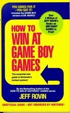 How to Win at Game Boy Games: With a Special Secti