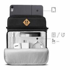 iPad Pro 12.9 2018/2019 Sleeve Case Shockproof Crossbody Bag Lightweight Black