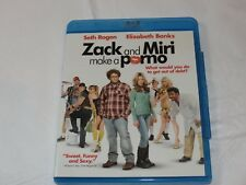 Zack and Miri Make a Porno Blu-ray Disc 2009 Widescreen Seth Rogen Elizabeth Ban