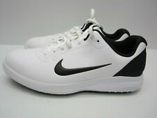 Nike Infinity G Golf Shoes Men's Size 8.5 Sneakers White Black CT0531-101