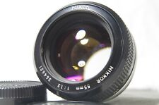 Nikon Nikkor 55mm F/1.2 Non-Ai MF Prime Lens SN364621 from Japan