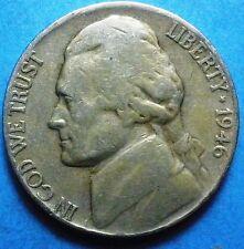 1946-P   Jefferson Nickel