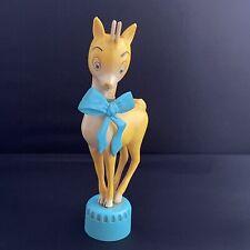 More details for vintage babycham deer bottle topper advertising breweriana home bar 50s/60s