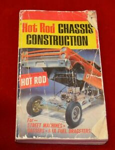 Hot Rod Chassis Construction  (1st printing) by Hot Rod Magazine WELL WORN PB