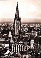 Freiburg i. Br. , Münster ,1964 gelaufene AK
