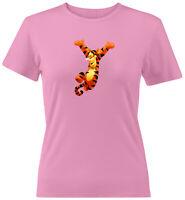 Tigger Juniors Tee T-Shirt  Winnie the Pooh Tiger Classic Cartoon Disney Sz S-2X