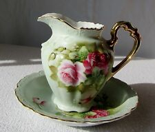 Vintage Lefton China - miniature wash basin and pitcher
