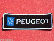 PEUGEOT RACING MOTORSPORTS STRIPE SEW/IRON ON PATCH