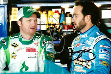 Dale Earnhardt Jr. & Jimmie Johnson Madascar Mountain Dew Dual Signed 4x6 Photo