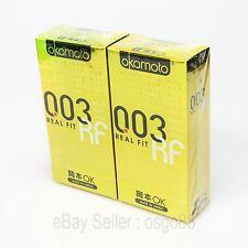 20p Okamoto 003 0.03mm Real Fit condom Lubricant Super Ultra THIN condoms