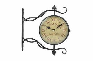 Orologio a sospensione Terminus in metallo Wall clock