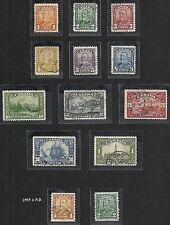 Canada 1928 SG 275-287  CANC  VF