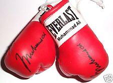 Autografiada Mini Guantes De Boxeo Muhammad Ali