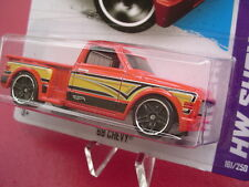 RED '69 Chevy. 2013 HW Showroom. 161/250.  New in Blister Pack!