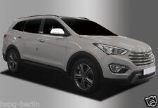 Accesorio para Hyundai Santa Fe 2014-2017 Tapas de Retrovisores Cromo