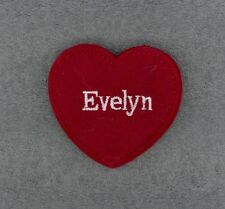 EVELYN Red Felt Heart Ornament Valentine's Day + Christmas + Crafts + Gift Tag
