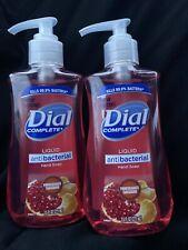 DIAL Antimicrobial Hand Soap 2 POMEGRANATE TANGERINE 7.5 oz KILLS 99.9% Bacteria