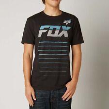 Fox Racing Mens 11th Hour Premium SS T-Shirt Tee SLIM FIT BLACK Sz XL