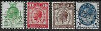 SG434-7.  1929 PUC Low Values. FU Set With Good Original Colours.  Ref:0.17