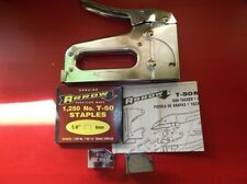 Arrow T50M Heavy Duty Staple Gun Made in USA FWO