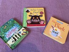 3 Hardback Toddler Books