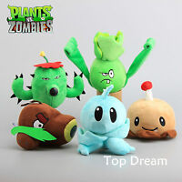 Cute PLANTS vs. ZOMBIES Popular Game Soft Plush Toy Stuffed Doll Kid Baby Gift