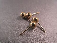 14K Gold Filled Ball Earring Post 5mm 4pcs