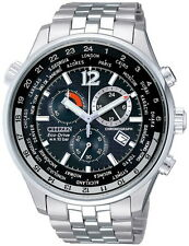 Citizen Eco-Drive Stainless Steel Men's Watch AT0365-56E