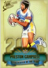 2009 Select NRL Classic Series - Club Player of the Year CP5 Preston Campbell