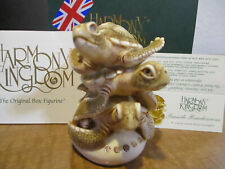 Harmony Kingdom Seaside Rendezvous V1 Sea Turtles Uk Made Box Figurine