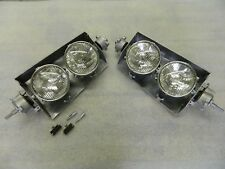 NEW 63-67 CORVETTE T3 headlight assemblies headlamp Bucket Lid GM Licensed