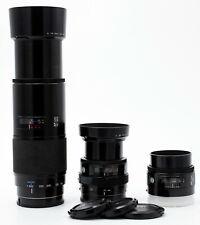 3 MINOLTA AF LENSES SONY A-MOUNT 50mm F/1.7 35-70mm F/4
