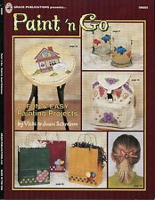 Paint'n Go Decorative Tole Painting Book by Vicki & Joani Schreiner NEW