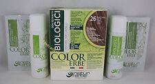 Naturerbe COLOR ERBE bio Tinta TINTURA biologica capelli 60ml colore 26 NOCCIOLA