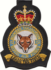 No. 12 (b) Squadron Royal Air Force RAF Crest Mod Embroidered Patch