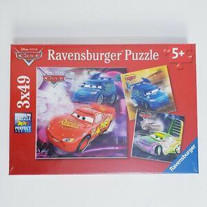 Ravensburger Cars 3 x 49 Jigsaw Puzzle Disney Pixsr 5+ Premium New