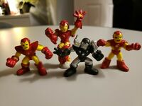 Marvel Super Hero Squad figures 2 inch Iron Man and War Hammer lot