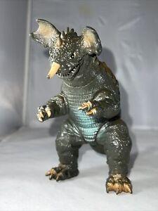 "1992 BANDAI 6"" BARAGON Tsuburaya Kaiju GODZILLA Movie Monster Vinyi Figure Toho"