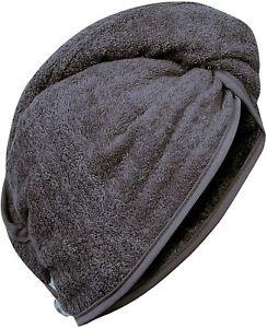 QUICK DRY MAGIC HAIR TURBAN TOWEL 100% COTTON  HAIR WRAP BATH TOWEL CAP HAT