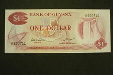 New listing Guyana One Dollar Banknote - 1983 - Crisp Uncirculated