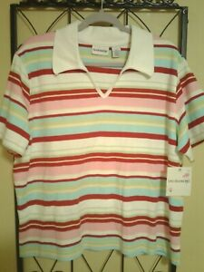 Breckenridge New With Tags Woman's Short Sleeve Polo Size XL