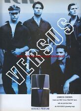 Versace Versus Fragrance 1992 Magazine Advert #3560