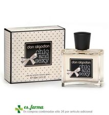 DON ALGODON PERFUME CHIC AND SEXY MUJER EAU DE TOILETTE 100ML COLONIA PUIG FEMME