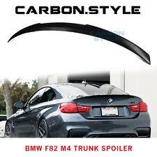 2014-2016 For BMW F82 4-Series M4 Style Coupe 2D Painted Rear Trunk Spoiler